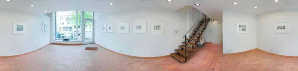 Diplompräsentation Philografisch von Regina Stiegeler in der Galerie Nord, Halle 2010