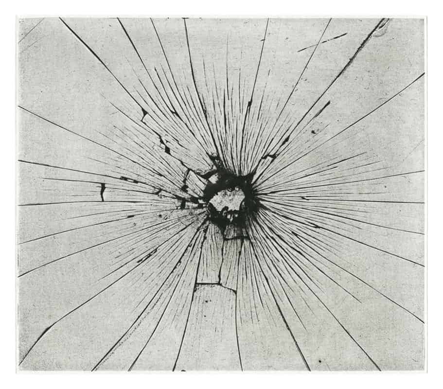 space photogram, Photogravure, 10 x 11 cm, Regina Stiegeler, 2016